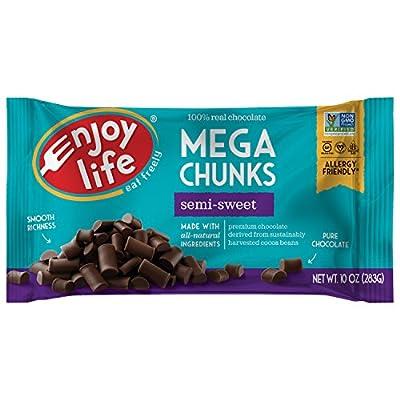 Enjoy Life Mega Semi-Sweet Chocolate Chunks, 10 oz