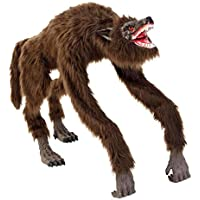 Home Accents Holiday 63 in. Animated Crouching Fur Werewolf