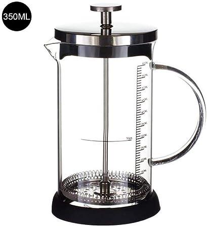 Hokaime 350 / 600ml ml Cafetera Vaso de café de Vidrio Prensa de ...