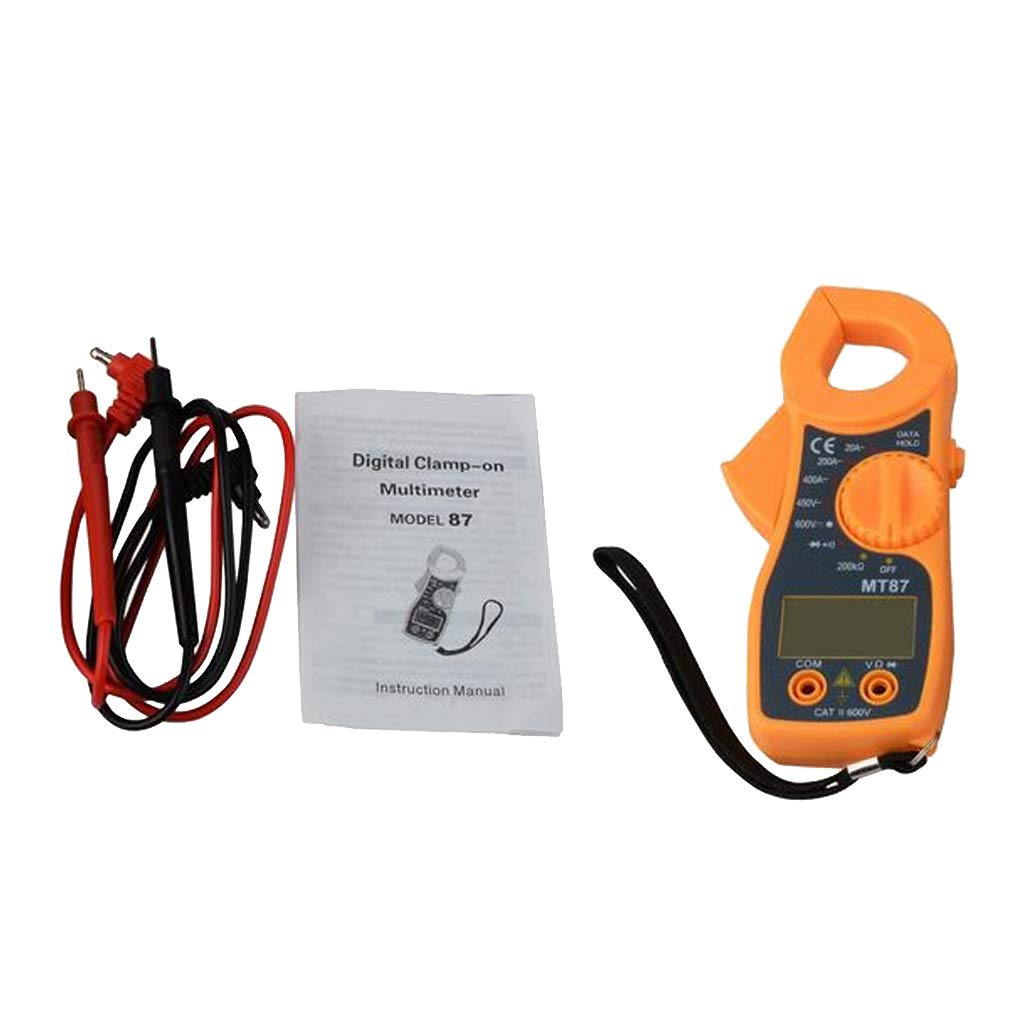 B Blesiya Accurate Digital Clamp Multimeter with Soft Case AC DC ...