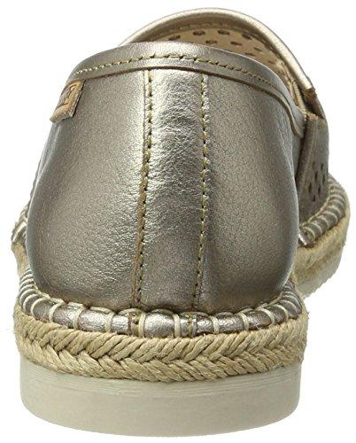 Pikolinos Women's Cadamunt W3k_v17 Espadrilles, Black Silver (Stone)