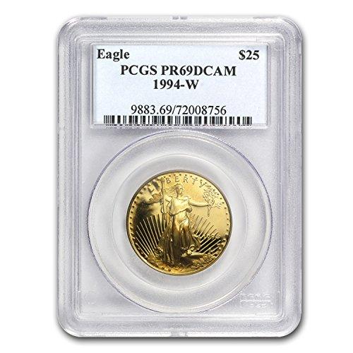 1986 – Present 1/2 oz Proof Gold American Eagle PR-69 PCGS (Random Year) 1/2 OZ PR-69 PCGS