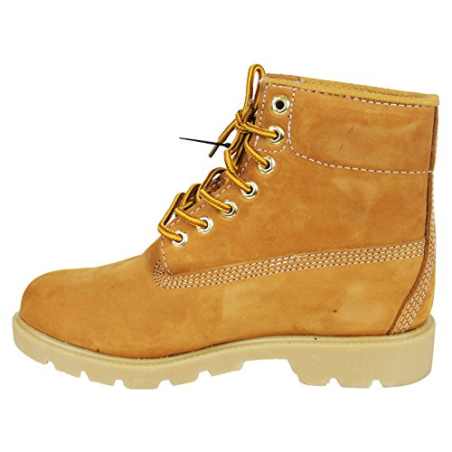 Tall Kingshow Brand Wheat Winter Wheat Warm Color 8005 Men's amp; Genuine Boots Leather qrZwB6Xrx