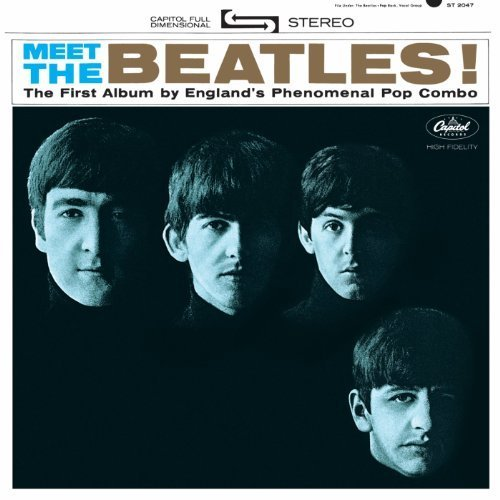 Original album cover of Meet The Beatles (The U.S. Album) by The Beatles (2014-01-21) by The Beatles