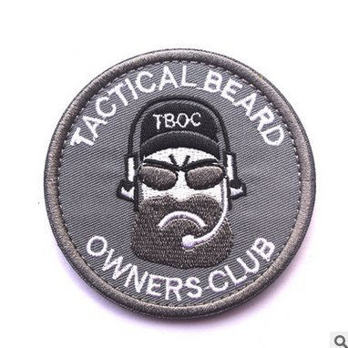 TACTICAL OWNERS AIRSOFT Embroidery VELCRO product image