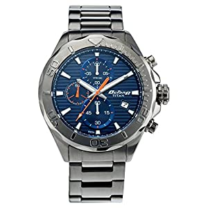 Titan Octane Chronograph Blue Dial Men Watch -NM90087QM01 / NL90087QM01