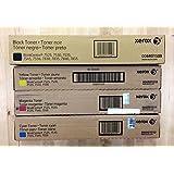Xerox Genuine 006R01509, 006R01510, 006R01511, 006R01512 CMYK Toner Set.