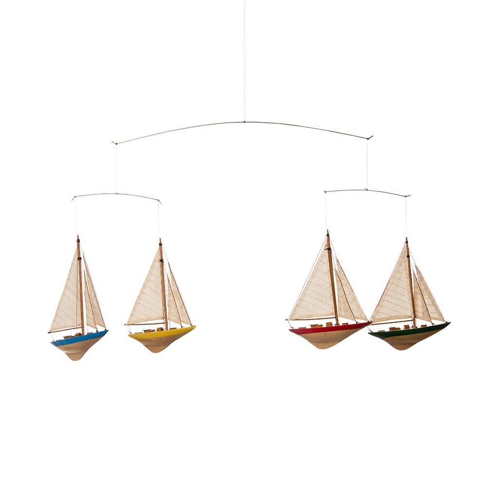 Glenna Jean Set Sail Ceiling Mobile - Sailboats by Glenna Jean