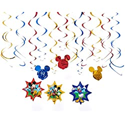 "Disney ""Mickey Mouse"" Swirl Value Pack, Party Favor"