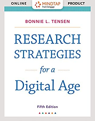 MindTap English for Tensen's Research Strategies for a Digital Age, 5th Edition