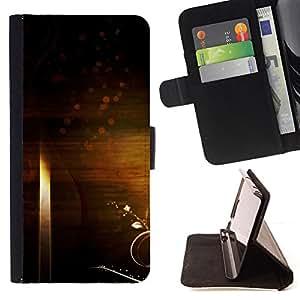 - ART WALLPAPER UNIVERSE SYMBOLIC RANDOM INFINITY - - Prima caja de la PU billetera de cuero con ranuras para tarjetas, efectivo desmontable correa para l Funny HouseFOR Samsung Galaxy S6