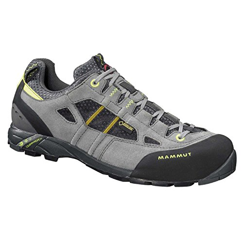 Mammut Zapatilla redburn low gtx mujer light grey-lemon No