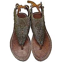 f8b49200e7e GlobalHandmade Reef sandy Gold sandal shoe for women