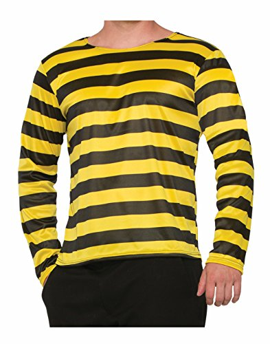Forum Novelties 78098 Bee Long Sleeve Adult Shirt, One -