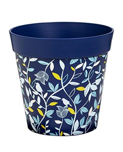 - New Creative Blue Foliage 10-inch Outdoor Safe HUM Flowerpot Planter