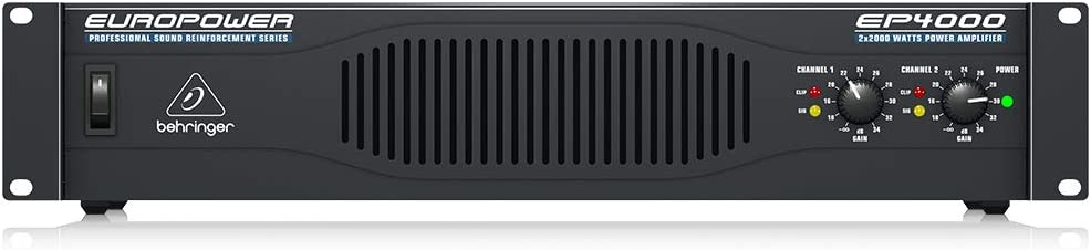 Behringer Europower EP4000 Professional 4,000-Watt Stereo Power Amplifier