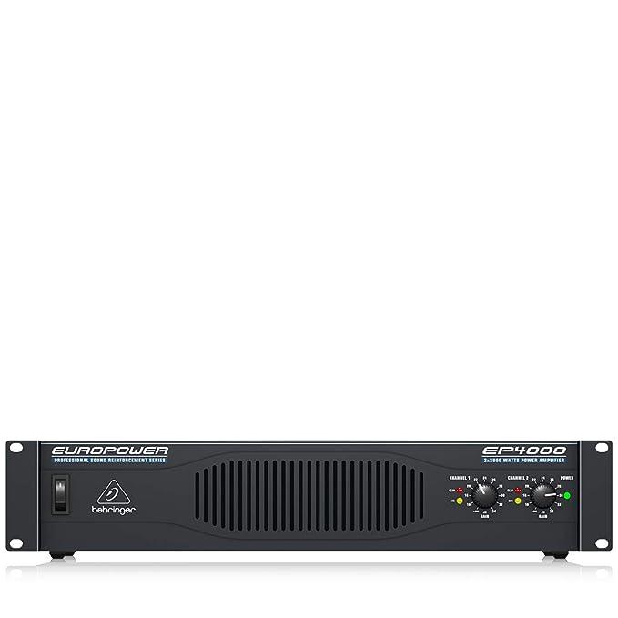 Behringer EP4000 - Etapa potencia ep-4000 unidad: Amazon.es ...