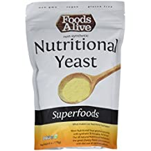 Foods Alive Nutritional Yeast Flakes, Vegetarian Support Formula, 6 Ounce