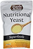 vegan cheese its - Foods Alive Nutritional Yeast Flakes, Vegetarian Support Formula, 6 Ounce