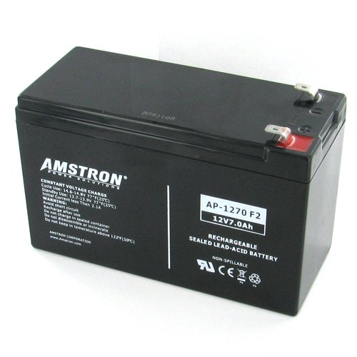 Amstron 12V 7AH Agm SLA Battery 12 Volt 7A Rechargable Vrla Battery by Global Marketing Partners