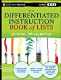 The Differentiated Instruction Book of Lists, Jenifer Fox and Whitney Hoffman, 0470952393