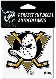 "Wincraft Anaheim Ducks Mighty Ducks Perfect Cut Decal 4"" x 4"" - Throw"
