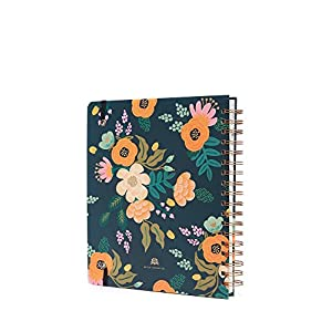 Rifle Paper 2018 Lively Floral Large Spiral Planner