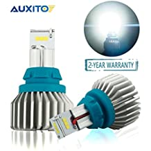 AUXITO Error Free 912 921 T15 LED Bulbs 2000 Lumens Extremely Bright Newest CSP 9-SMD Plug and Play for Backup Reverse Lights, 6500K White (Pack of 2)