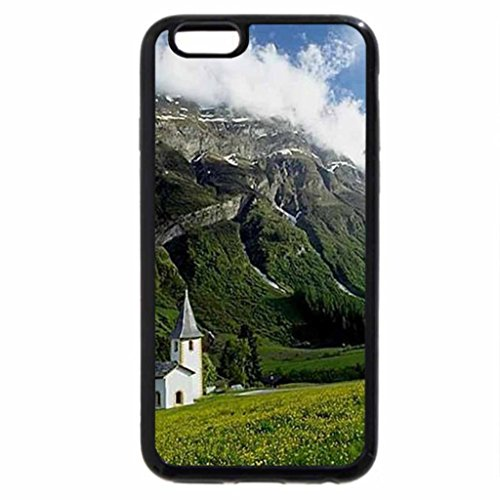iPhone 6S / iPhone 6 Case (Black) mountain church