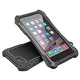 6 plus carbon case - Carbon Fiber Aluminum Metal Gorilla Glass Heavy Duty iPhone 6s Plus/ 6 Plus Case(5.5