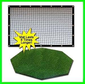 Amazon Com Golf Mat Golf Net Combo 9 X 10 High