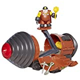 The Incredibles 2 Tunneler Vehicle Play Set with Junior Super Underminer Figure and 3 Accessory Pieces