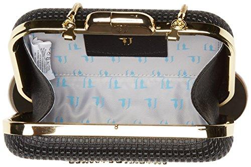 L w Femme Pochettes H Jeans Nero Trussardi 1y000061 X Cm 16x12x5 75b00208 wAH1wq4