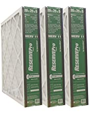 """GeneralAire # 4551 for 4501 ReservePro 20x25x5 MERV 11 furnace filter, Actual Size:19 5/8"""" x 24 3/16"""" x 4 15/16"""" - Case of 3 Filters"""