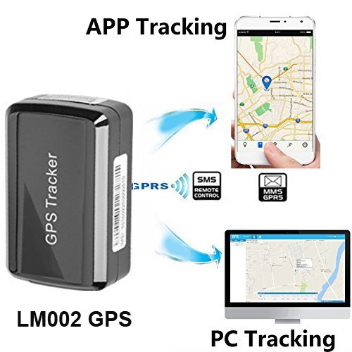 Magnetic GPS Tracker ,GPS/GSM/GPRS Tracking System with: Amazon co