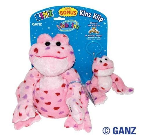 Kinz Clip Klip (Webkinz Love Frog Kinz & Klip)