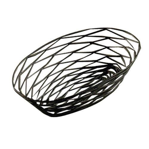 "Tablecraft (BK17410) 10"" Oval Artisan Series Basket [Set of 6]"