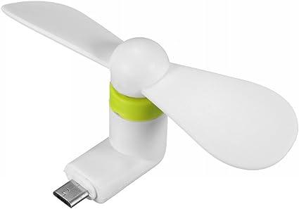 Mini Ventilador Portátil de Refrigeración para teléfono Celular ...