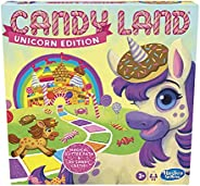 Candy Land Unicorn Edition Board Game, Preschool Game, No Reading Required Game for Young Children, Fun Game f