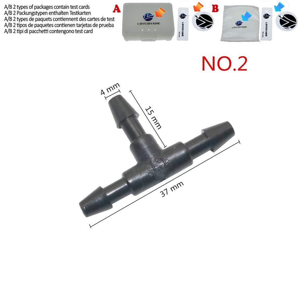 Raccordi a T in plastica per tubi 10 mm 10 mm 10 mm 4 mm 13,5 mm 8 mm 10 mm 3 mm