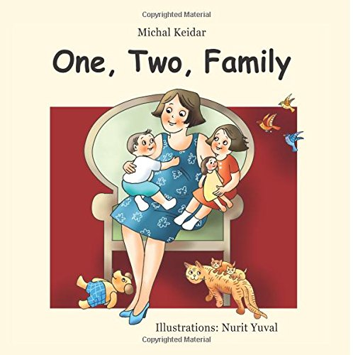 Children Book One Two Family A Single Parent Family Amazon Co Uk Keidar Michal Yuval Nurit Books