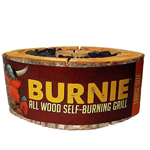 Burnie Grill: All Wood Self-Burning Grill - Large