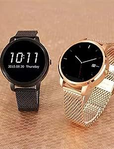 Bluetooth 4.0 SmartWatch portátil, control / frecuencia cardiaca a distancia por infrarrojos / anti-perdió para android teléfono , black