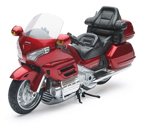 Honda Gold Wing Motorcycle Newraay Diecast 1:12 Scale Burgundy (1 12 Die Cast compare prices)