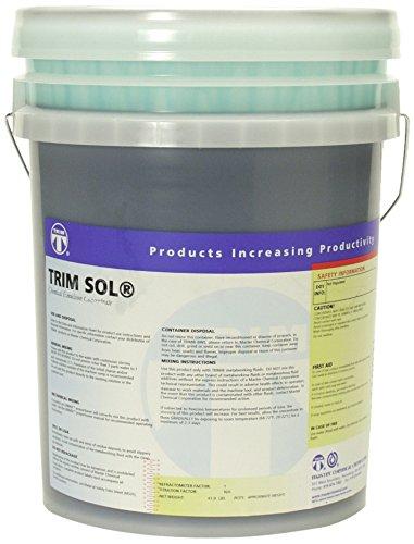 TRIM Cutting & Grinding Fluids SOL/5 General Purpose Emulsion, 5 gal Pail by TRIM