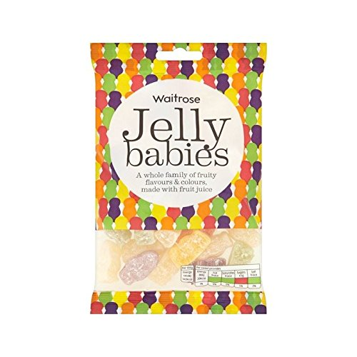 Jelly Babies Waitrose 225g - Pack of 6