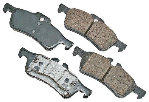 (Akebono EUR1060 EURO Ultra-Premium Ceramic Rear Brake Pad Set For 2002-2008 Mini Cooper )