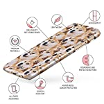 Glitbit Compatible with iPhone 6 Plus / 6s Plus Case Doge Pattern Shiba Inu Akita Cute Dog Puppy Doggo Thin Design Durable Hard Shell Plastic Protective Case Cover 6