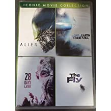 Iconic Movie Collection: Alien (1979), The Day the Earth Stood Still (1951), 28 Days Later (2003), The Fly