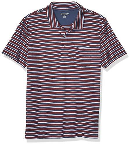 Amazon Essentials Mens Slim-Fit Pocket Jersey Polo